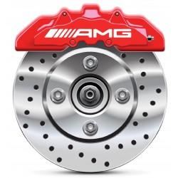 Stickers autocollants étrier de frein AMG Mercedes