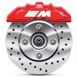 Stickers autocollants étrier de frein BMW M