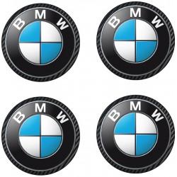 Stickers autocollant moyeu de jante BMW