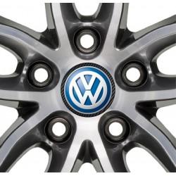 Stickers autocollant moyeu de jante Volkswagen