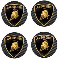 Stickers autocollant moyeu de jante Lamborghini