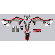 Stickers kit deco moto MX honda