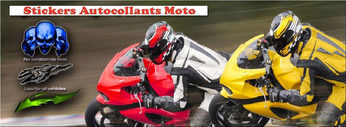 Stickers autocollants Moto